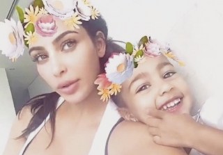 North West Wears Slip Dress During Kardashian-West Trip to NYC (PHOTOS)