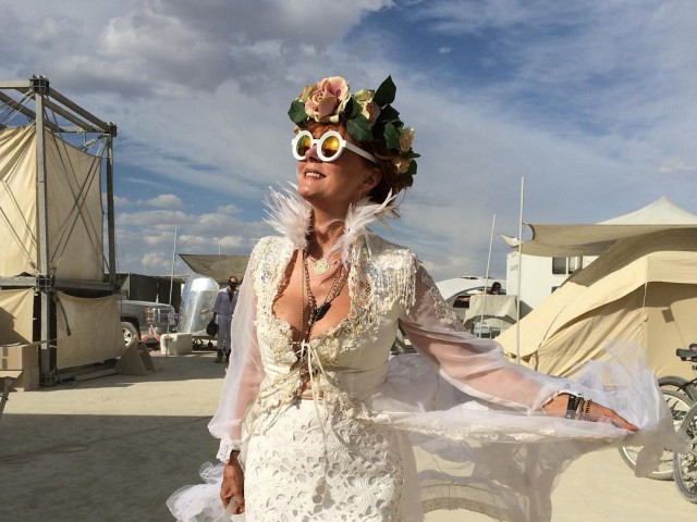 2016 Burning Man, celebrities, Susan Sarandon