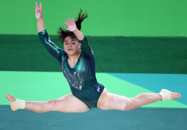 Mexican Gymnast Alexa Moreno Fat Shamed For Being 99 Pounds