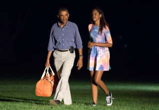 Malia Obama Hauled Out of Wild House Party By Secret Service  — Report
