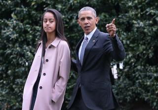 Malia Obama Allegedly Caught Smoking Pot at Lollapalooza — Report