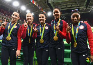 Gabby Douglas Slammed For Not Putting Hand on Heart During National Anthem