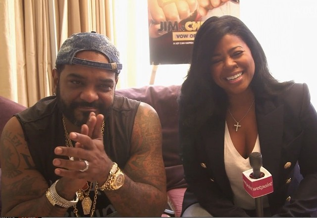 Jim Jones and Chrissy Lampkin
