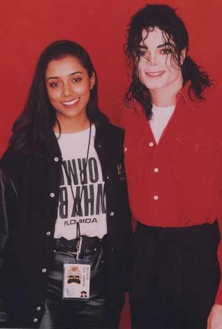 Michael Jackson Shana Mangatal