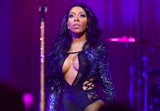 K. Michelle Hints She's Pregnant During Atlanta Tour Stop (VIDEO)