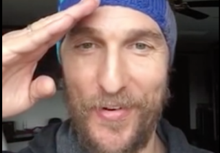 Matthew McConaughey Has a Secret YouTube Channel — and It\'s Amazing
