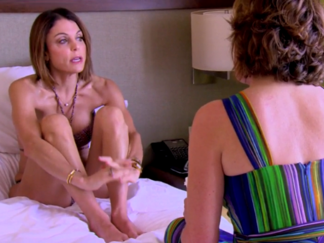 Bethenny Confronts Luann on RHONY Season 8, Episode 19
