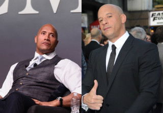 The Rock and Vin Diesel Might Settle Their Feud in a Wrestling Match