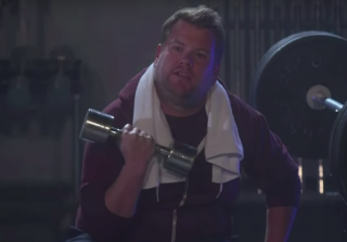 "James Corden Has Already Spoofed Kanye West's ""Fade"" Music Video"