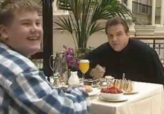 This 1995 Video of James Corden Interviewing Meatloaf Is Everything
