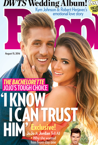 JoJo Fletcher and Jordan Rodgers on People