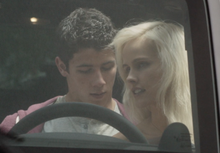 Exclusive — Nick Jonas Has Sexy Moment in 'Careful What You Wish For' Clip
