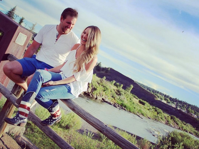 nikki ferrell engagement photos