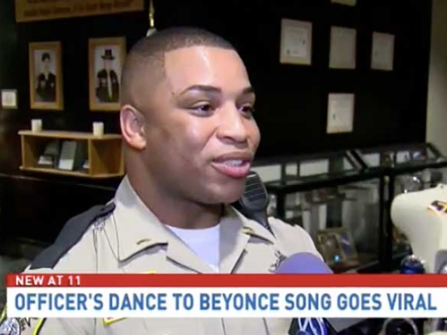 police officer beyoncé