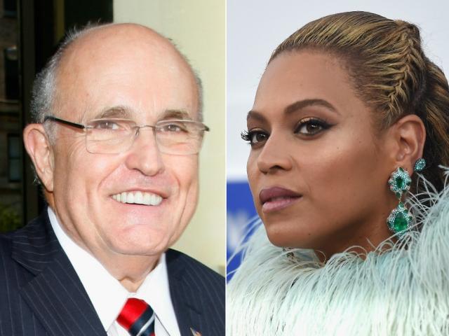 Rudy Giuliani, Beyoncé