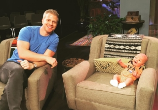 Sean & Catherine Lowe's Baby Samuel Makes TV Debut on 'After Paradise'!