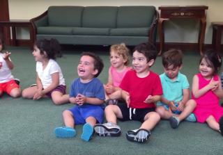 This Adorable Toddler's Infectious Laugh Will Make Your Day (VIDEO)