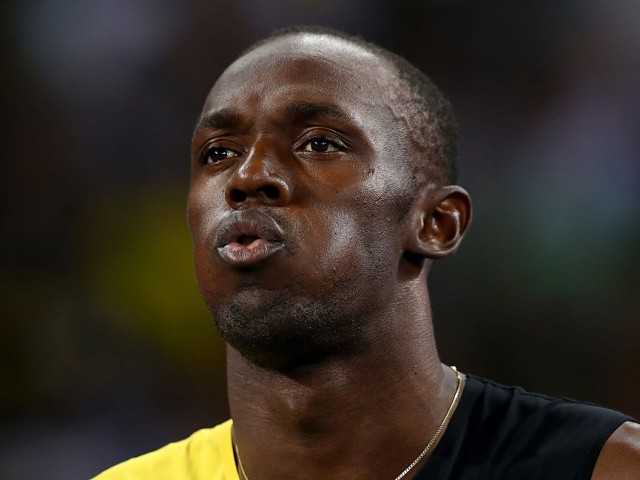 Usain Bolt cheating