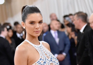 Kendall Jenner Has a Lip Tattoo… Or, at Least, She Had One