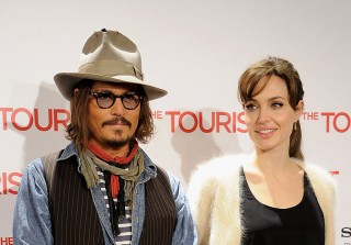 "Angelina Jolie Is Being ""Consoled"" by Johnny Depp Following Split From Brad Pitt"