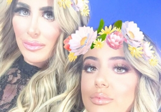 Kim Zolciak & Daughter Brielle Step Out In NYC Looking Like Identical Twins (PHOTOS)
