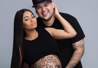 Blac Chyna & Rob Kardashian Share First Sonogram of Baby Girl (PHOTO)