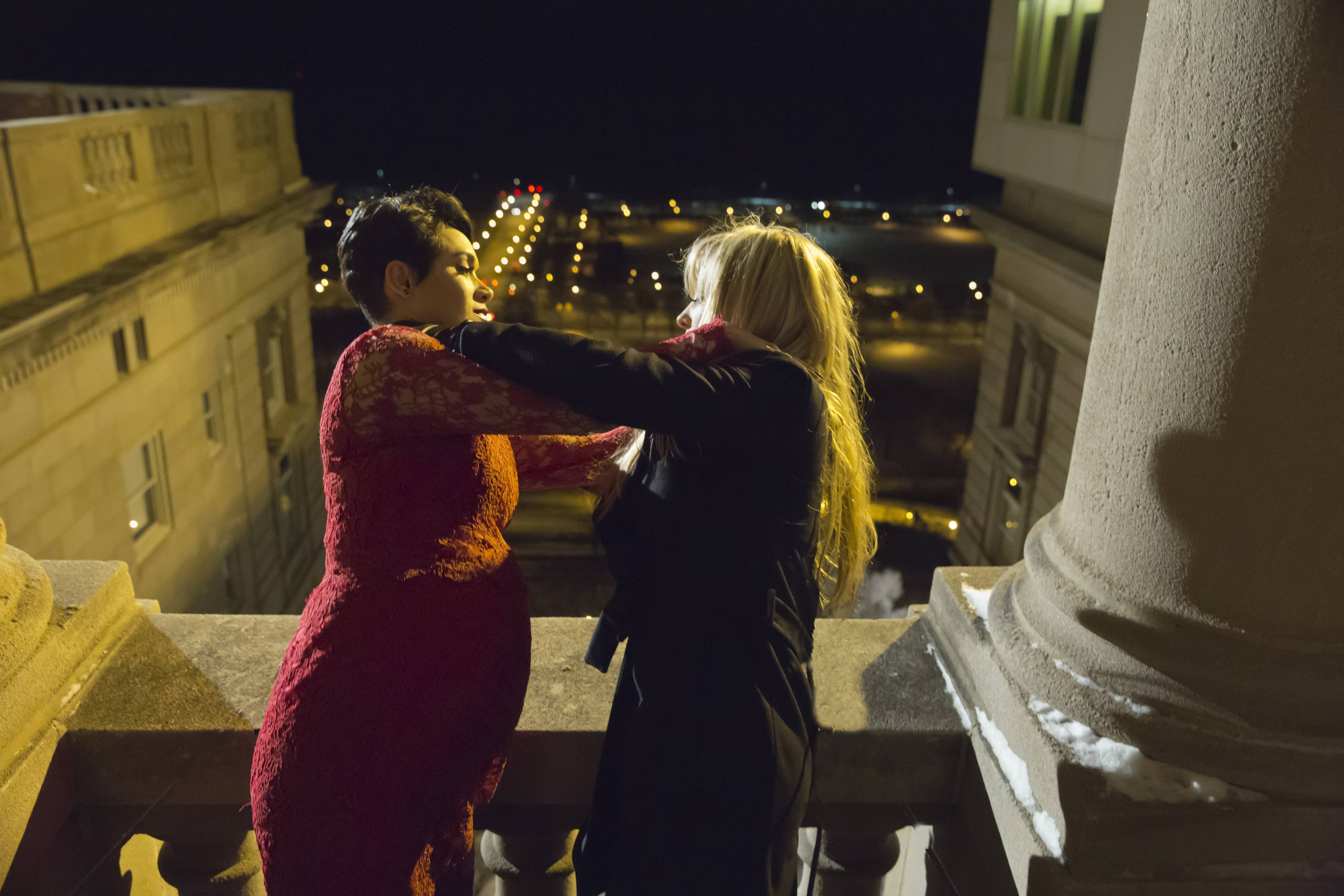 Showrunner talks of Rhonda-Anika balcony face-off