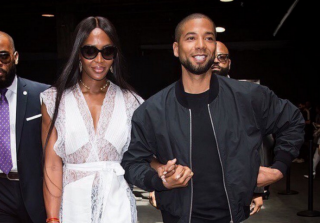 \'Empire\' Co-Stars Jussie Smollett & Naomi Campbell Walk Arm-in-Arm at NYFW (PHOTOS)