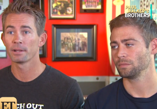 Late Paul Walker's Brothers on How Filming 'Furious 7' Helped Them Cope (VIDEO)