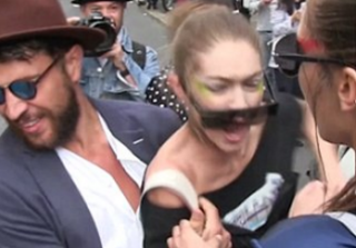 Gigi Hadid Criticized For Defending Herself After Man Grabs Her in Public (VIDEO)