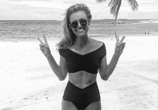 Ashley Salter's Post-Baby Body Is Serious #FitnessGoals (PHOTOS)