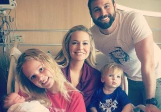 Emily Maynard's Son Jennings Is In Big Brother Mode With Baby Gibson (VIDEO)