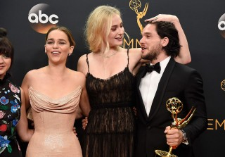 See 'Game of Thrones' Stars at the 2016 Emmys vs. on the Show (PHOTOS)