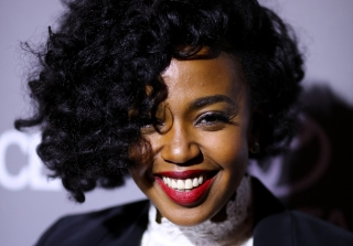 Happy Birthday, Jerrika Hinton! See Her Red Carpet Fashion (PHOTOS)