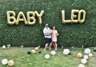 Jillian Harris Throws Gorgeous First Party For Baby Leo! (PHOTOS)