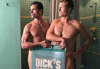 John Stamos, Glen Powell Respond to 'Scream Queens' Nude Scene