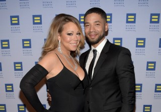 Jussie Smollett Talks Friendships With Mariah Carey & Kelly Ripa