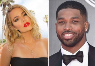 Khloe Kardashian & Tristan Thompson Cozy Up at Drake Concert (PHOTOS)