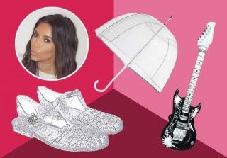 9 Things Kim Kardashian\'s Plastic Boots Remind Us of (PHOTOS)