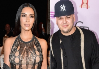 Rob Kardashian Admits to Crush on Sister Kim Kardashian (VIDEO)