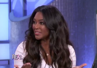 Kenya Moore Talks Donald Trump and Body Shaming on 'The Real'