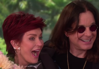 Ozzy Osbourne Surprises Sharon Osbourne For Her Birthday (VIDEO)