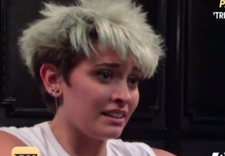 Paris Jackson Sees 'Death' During a Criss Angel Stunt (VIDEO)