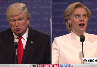 'Saturday Night Live' Fires Back at Donald Trump in Final Debate Skit (VIDEO)