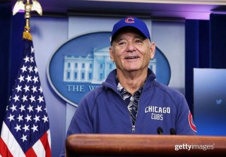 Bill Murray Hilariously Crashes a White House Press Briefing (VIDEO)