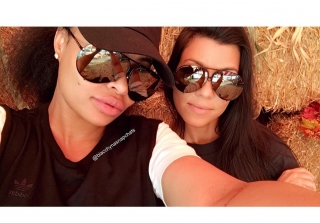Kourtney Kardashian & Blac Chyna Went Pumpkin Picking Together