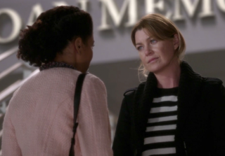 Literally Every Time Mer Lied to Maggie About Nathan on 'Grey's Anatomy' (PHOTOS)