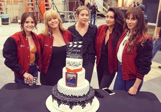 'Pretty Little Liars' Cast Say Tearful Goodbyes As Series Finale Wraps (PHOTOS)