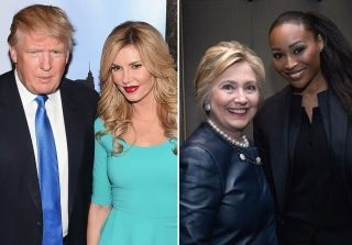 Clinton or Trump? Find Out How Your Fave 'Real Housewives' Are Voting (PHOTOS)