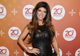 "Teresa Giudice Supports ""Gentleman"" Donald Trump — Except She Can't Vote"